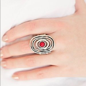 Fiery Red Stretch Ring NWT